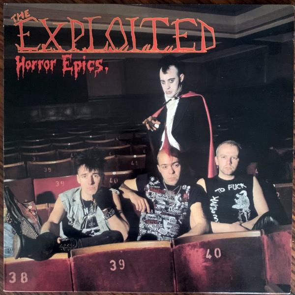 EXPLOITED, the Horror Epics (Konexion - Belgium original) (VG+) LP