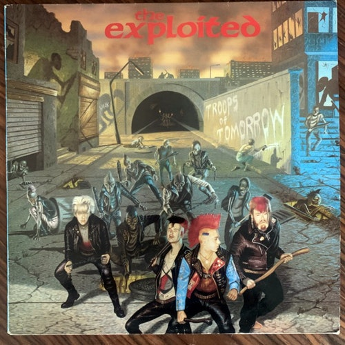 EXPLOITED, the Troops Of Tomorrow (Secret - Scandinavia original) (VG+) LP