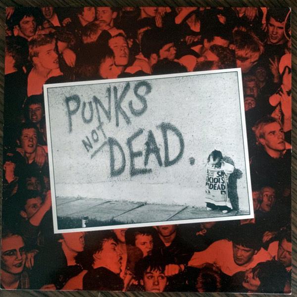 EXPLOITED, the Punks Not Dead (Secret - Ireland original) (VG+) LP