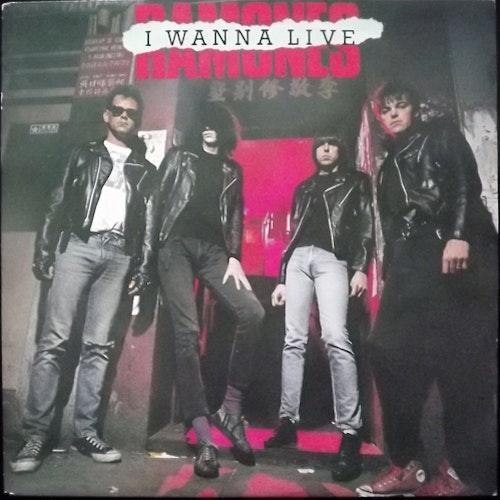 "RAMONES I Wanna Live (Torso - Holland original) (EX) 7"""