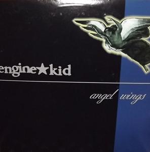 ENGINE KID Angel Wings (Blue/grey vinyl, ltd to 300 copies) (EX) 2LP