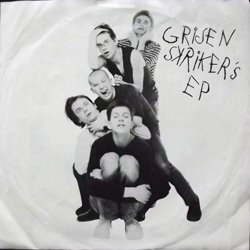 "GRISEN SKRIKER Grisen Skriker's EP (Silence - Sweden original) (VG+) 7"""