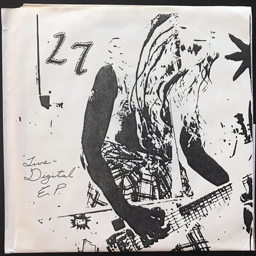 """L7 Live Digital E.P. (Red vinyl) (Georg Becker - Germany unofficial release) (EX/NM) 7"""""""