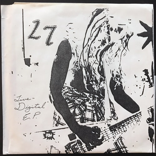 L7 Live Digital E.P. (Red vinyl) (Georg Becker - Germany unofficial release) (EX/NM) 7""