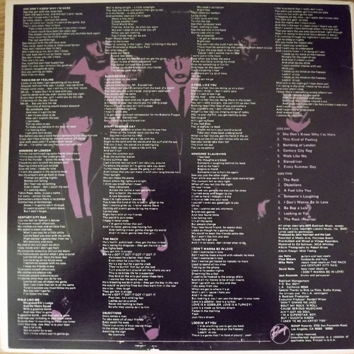 LAST, the L.A. Explosion! (Bomp! - USA original) (VG/EX) LP