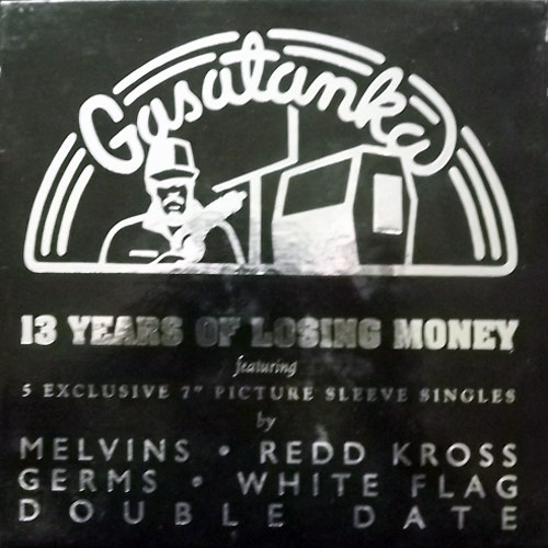 "VARIOUS 13 Years Of Losing Money (Gasatanka - USA original) (EX/NM) 5x7"" BOX"