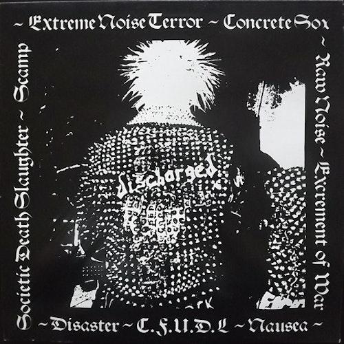 VARIOUS Discharged (Rhythm Vicar - UK original) (VG+/EX) LP