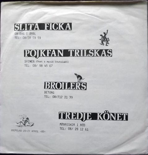 "VARIOUS .EP. (Bresa - Sweden original) (VG) 7"""