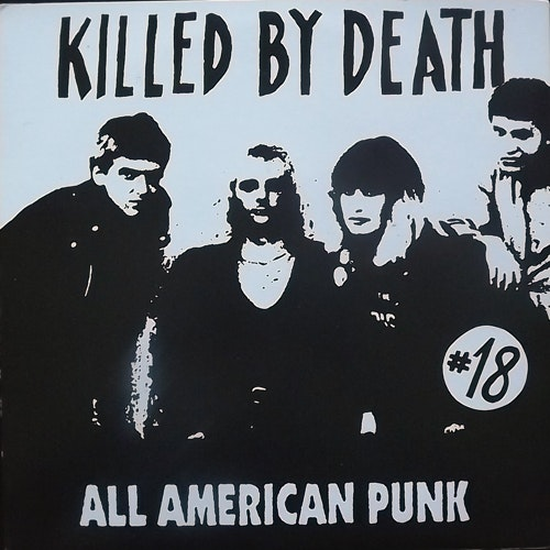 VARIOUS Killed By Death #18 (Redrum - Italy unofficial release) (EX) LP