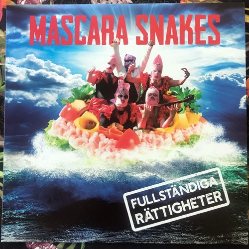 MASCARA SNAKES Fullständiga Rättigheter (Black vinyl) (Ultraljud - Sweden original) (NEW) LP