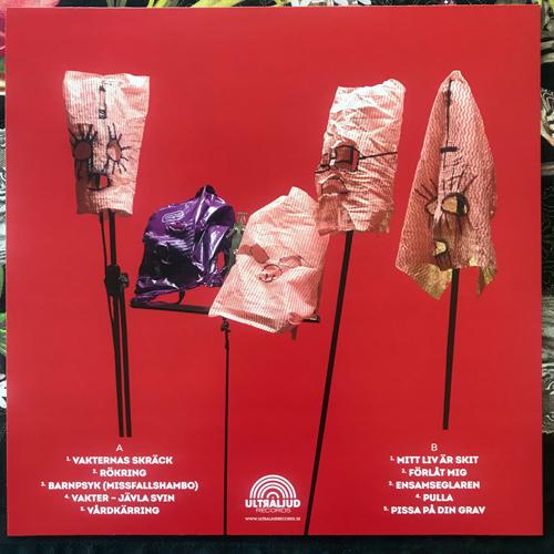 MASCARA SNAKES Fullständiga Rättigheter (Blue vinyl) (Ultraljud - Sweden original) (NEW) LP