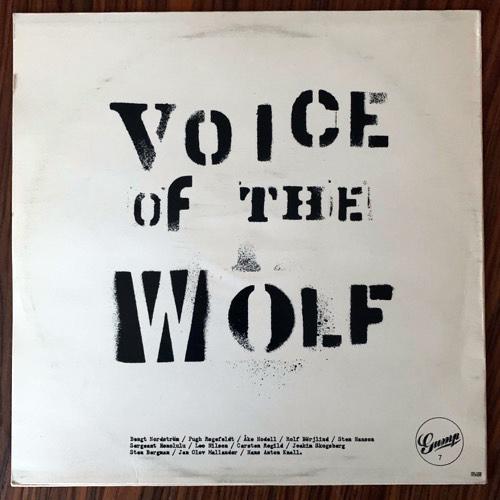 VARIOUS Voice Of The Wolf (Gump - Sweden original) (VG+) LP