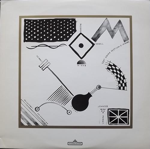 VARIOUS Text-Sound Festivals 10 Years (Fylkingen - Sweden original) (EX) LP