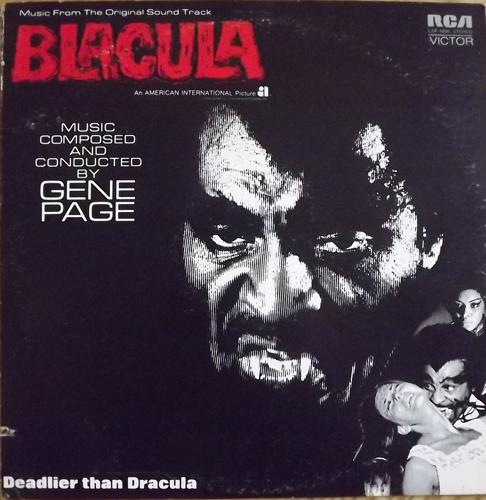 SOUNDTRACK Gene Page - Blacula (RCA - USA original) (VG/VG+) LP