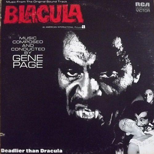 SOUNDTRACK Gene Page - Blacula (RCA - USA original) (VG/VG+) LP