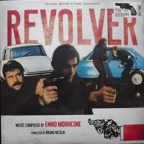 SOUNDTRACK Ennio Morricone – Revolver (Splatter vinyl) (Dagored - Italy reissue) (NEW) LP