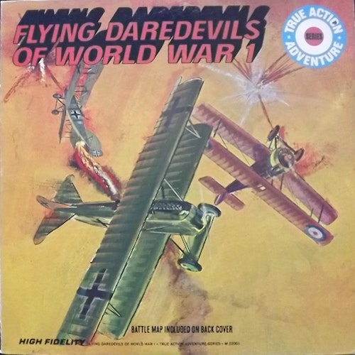 SOUNDTRACK Flying Daredevils of World War 1 (United Artists - USA original) (VG+) LP