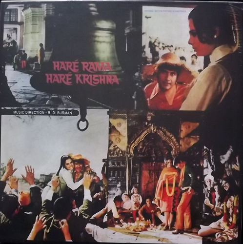 SOUNDTRACK R. D. Burman ‎– Haré Rama Haré Krishna (Far Eastern Sunshine - Europe reissue) (NEW) LP