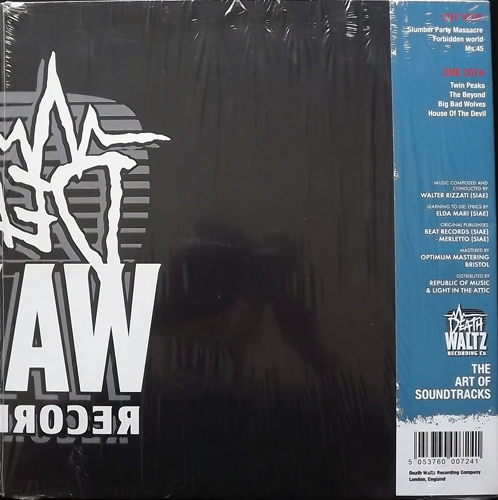 SOUNDTRACK Walter Rizzati – 1990 : I Guerrieri Del Bronx (Splatter vinyl) (Death Waltz - USA reissue) (EX/NM) LP