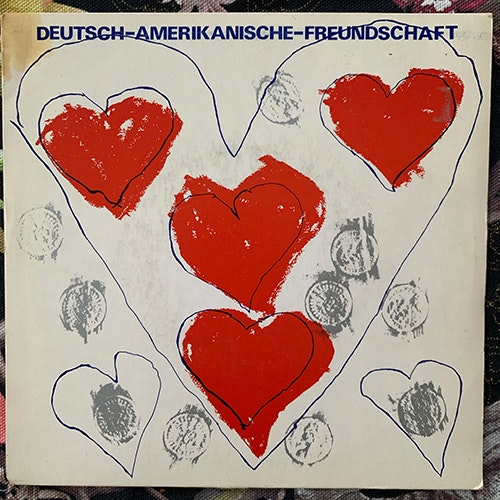 "DAF (DEUTSCH AMERIKANISCHE FREUNDSCHAFT) Kebabträume (Mute - UK original) (VG) 7"""