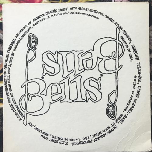 ALBERT AYLER Bells (Red vinyl) (ESP Disk - USA 1974 reissue) (VG+/EX) LP
