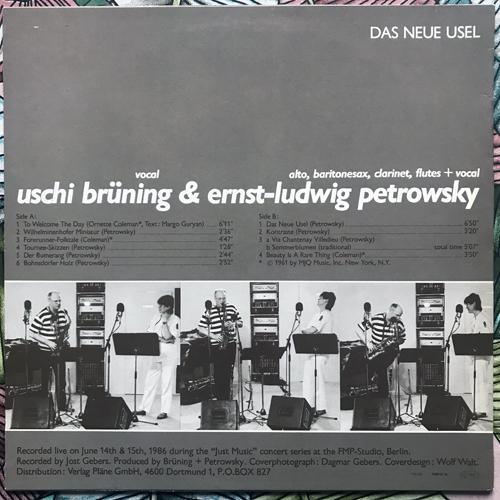 USCHI BRÜNING & ERNST-LUDWIG PETROWSKY Das Neue Usel (FMP - Germany original) (EX) LP