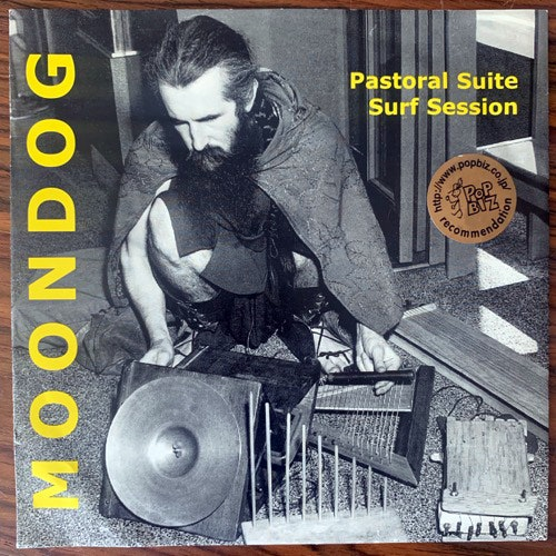 MOONDOG Pastoral Suite/Surf Session (Moondog's Corner - Germany reissue) (VG+) 7""