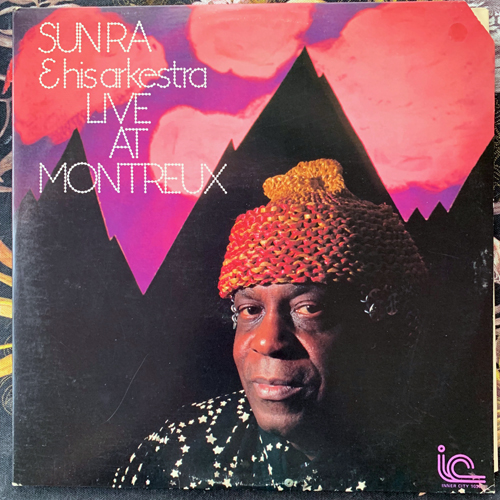 SUN RA & HIS ARKESTRA Live At Montreux (Inner City - USA original) (VG+/EX) 2LP