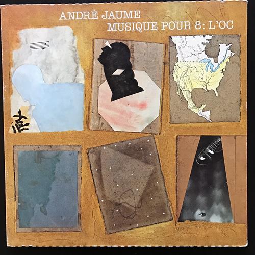 """ANDRÉ JAUME Musique Pour 8: L'Oc (hat ART - Switzerland original) (VG+/EX) LP+7"""" BOX"""