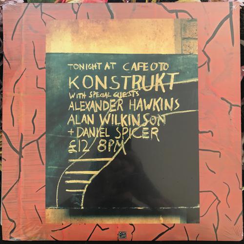 KONSTRUKT FEAT. ALAN WILKINSON, ALEXANDER HAWKINS, DANIEL SPICER L.O.T.U.S. (Omlott - Sweden original) (NEW) 2LP