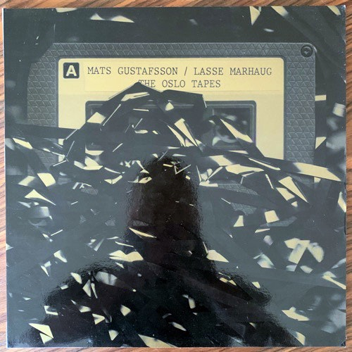 MATS GUSTAFSSON, LASSE MARHAUG The Oslo Tapes (Bocian - Poland original) (EX/NM) LP