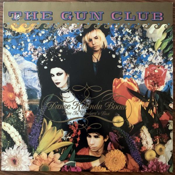 GUN CLUB, the Danse Kalinda Boom - Live In Pandora's Box (Megadisc - Holland original) (VG+) LP