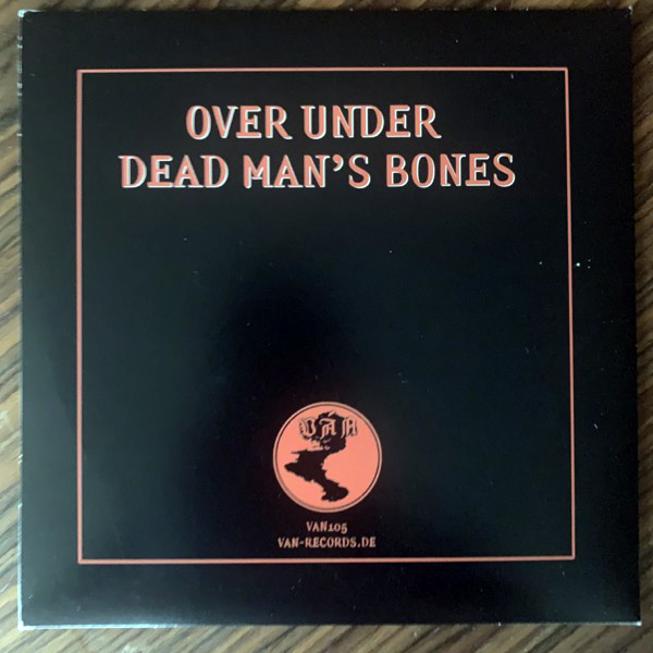 "DEATH ALLEY Over Under / Dead Man's Bones (Ván - Germany original) (VG+/EX) 7"""