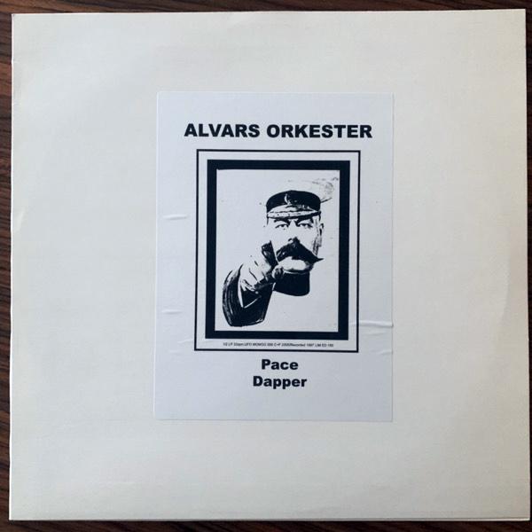 "ALVARS ORKESTER Pace / Dapper (UFO Mongo - Sweden original) (EX) 12"""
