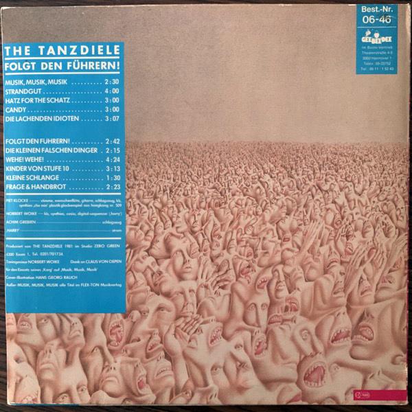 TANZDIELE, the Folgt Den Führern! (GeeBeeDee - Germany original) (VG+) LP