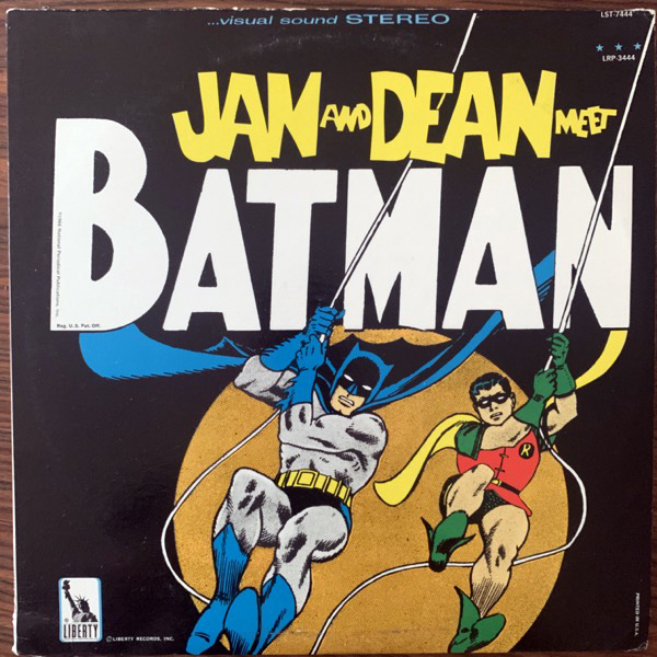 JAN AND DEAN Jan And Dean Meet Batman (Liberty - USA original) (VG+) LP