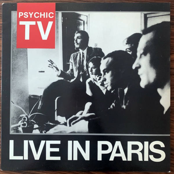 PSYCHIC TV Live In Paris (Temple - UK original) (EX) LP