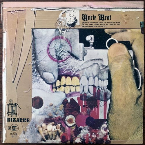 MOTHERS OF INVENTION, the Uncle Meat (Reprise - Canada 1976 reissue) (VG+) (NWW List) 2LP
