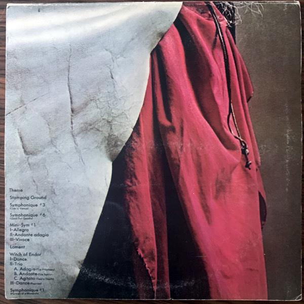 MOONDOG Moondog (CBS - UK original) (VG+) LP