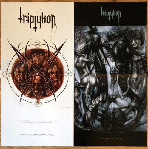 TRIPTYKON Eparistera Daimones (Century Media - Europe original) (NM) 2LP