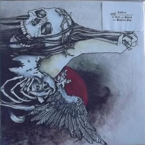 COFFINS/THE ARM AND SWORD OF A BASTARD GOD Split (Red vinyl. Incl. slipmat) (Enucleation - USA original) (NM) LP