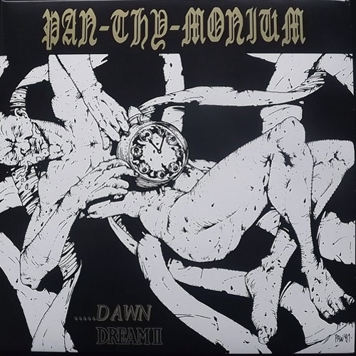 PAN-THY-MONIUM ...Dawn / Dream II (Gold vinyl) (The Crypt - USA original) (EX/NM) LP
