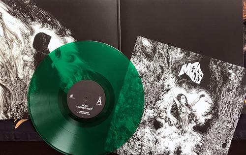MOSS Horrible Night (Green vinyl) (Rise Above - UK original) (NM) 2LP