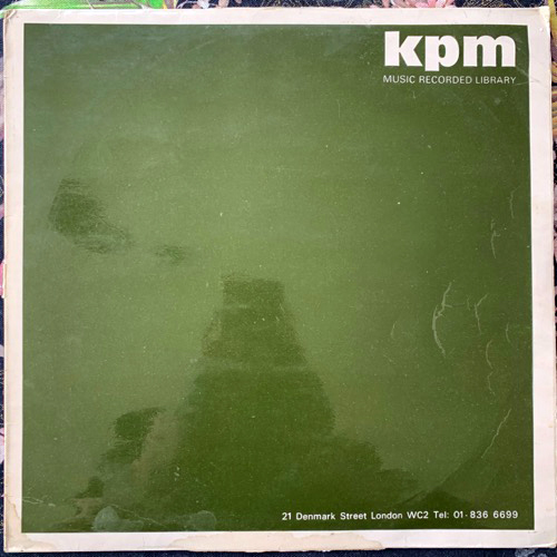 ADRIAN WAGNER The Electronic Light Orchestra (KPM - UK original) (VG-/VG) LP