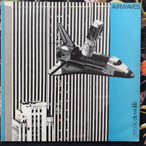 ALAN PARKER Airwaves (Music De Wolfe - UK original) (VG/VG+) LP