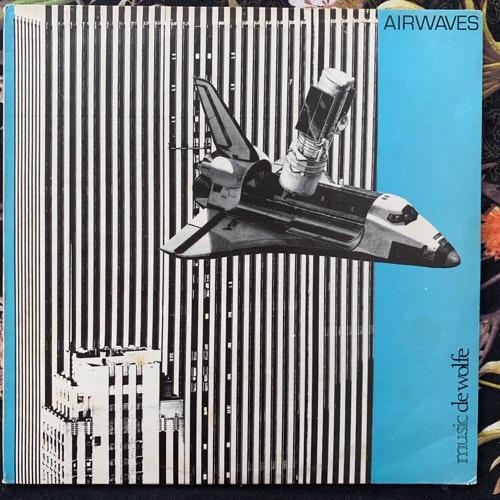 ALAN PARKER Airwaves (Music De Wolfe - UK original) (VG/VG+) LP