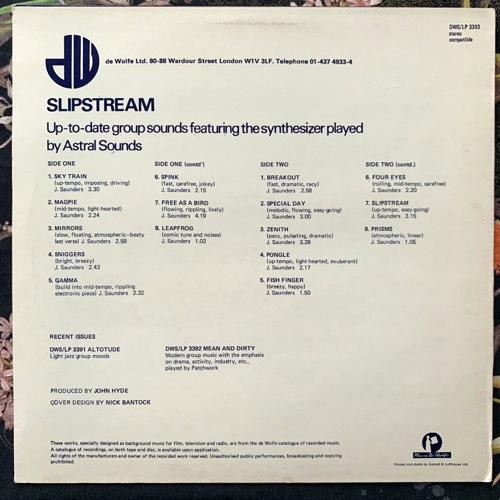 ASTRAL SOUNDS Slipstream (Music De Wolfe - UK original) (VG+/EX) LP