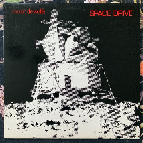 ASTRAL SOUNDS Space Drive (Music De Wolfe - UK original) (EX/NM) LP