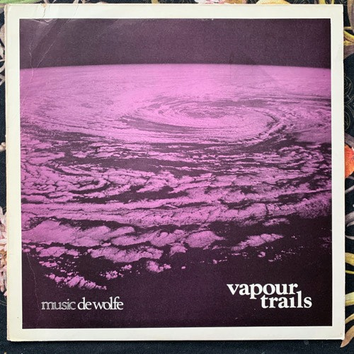 BRIAN CHATTON Vapour Trails (Music De Wolfe - UK original) (VG/VG+) LP