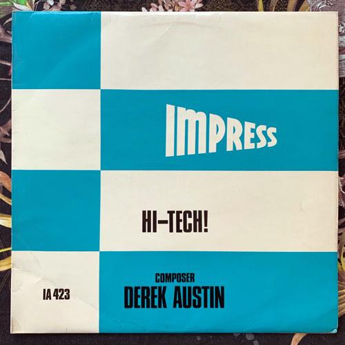 DEREK AUSTIN Hi-tech! (Impress - UK original) (VG+) LP